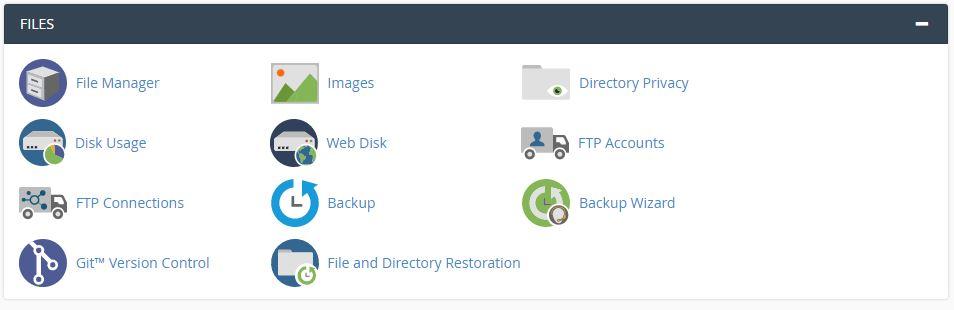 files module