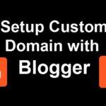 custom domain with blogger