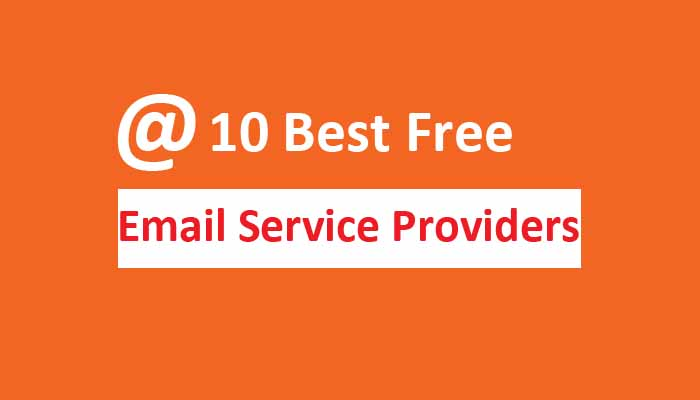 10 best free email service providers
