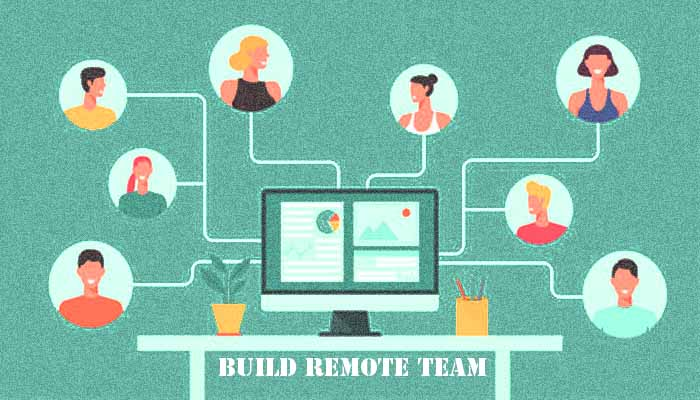 build remote team