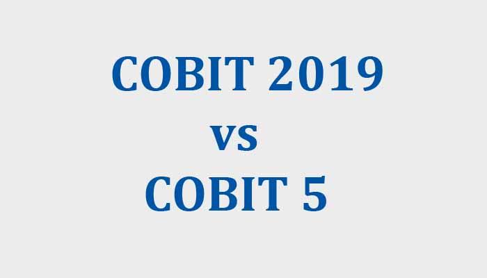 cobit 2019 vs cobit 5